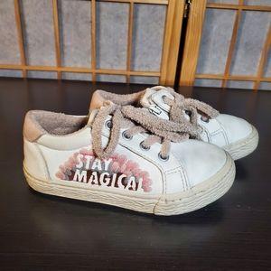 Zara stay magical sneakers